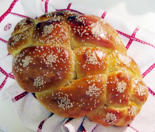 freshly baked challah...mmm